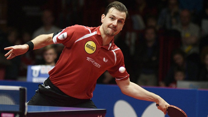 Timo Boll bei Spiel.