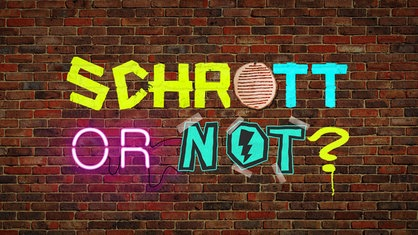 Schrott or not - Teaserbild
