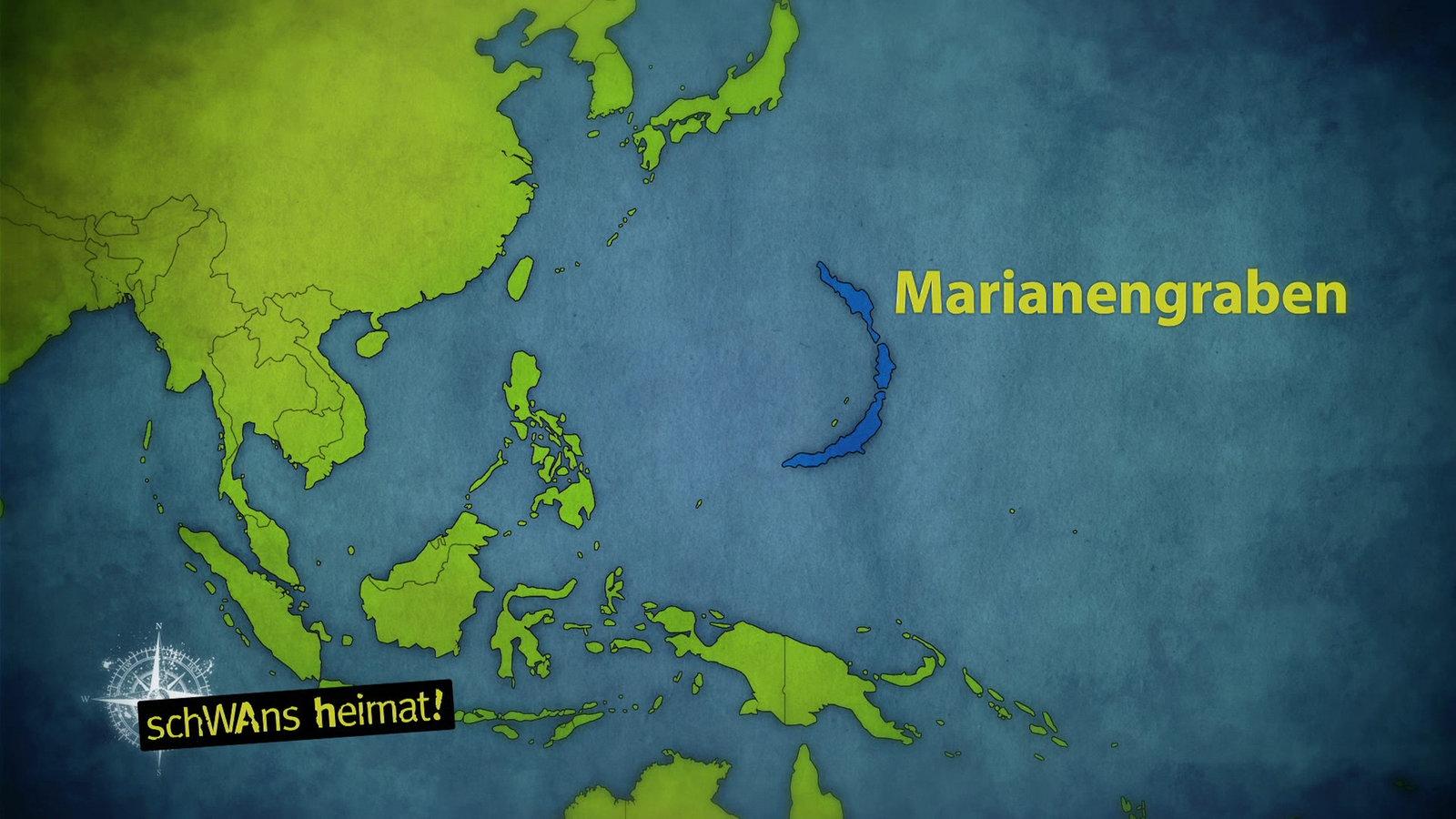 Marianengraben Tiefste Stelle